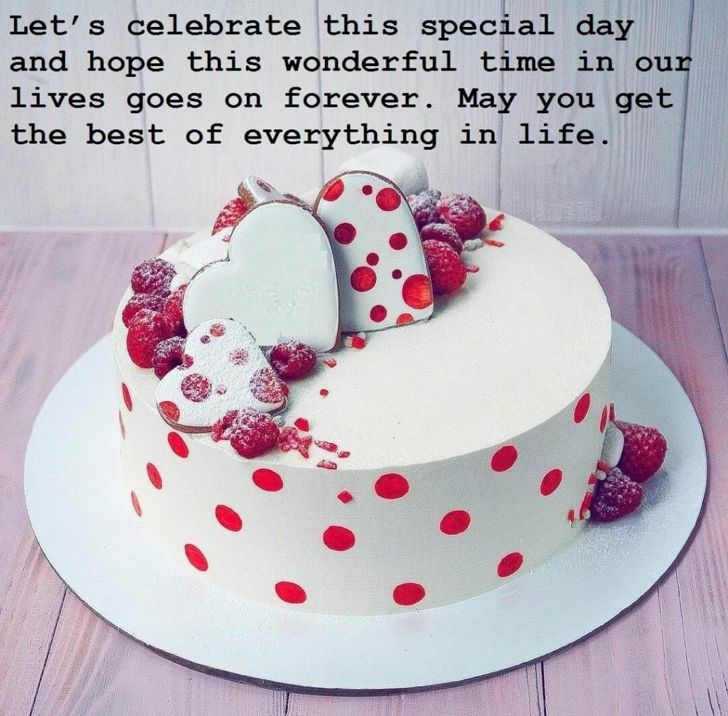 Birthday Cute Cake Wishes Images For Love