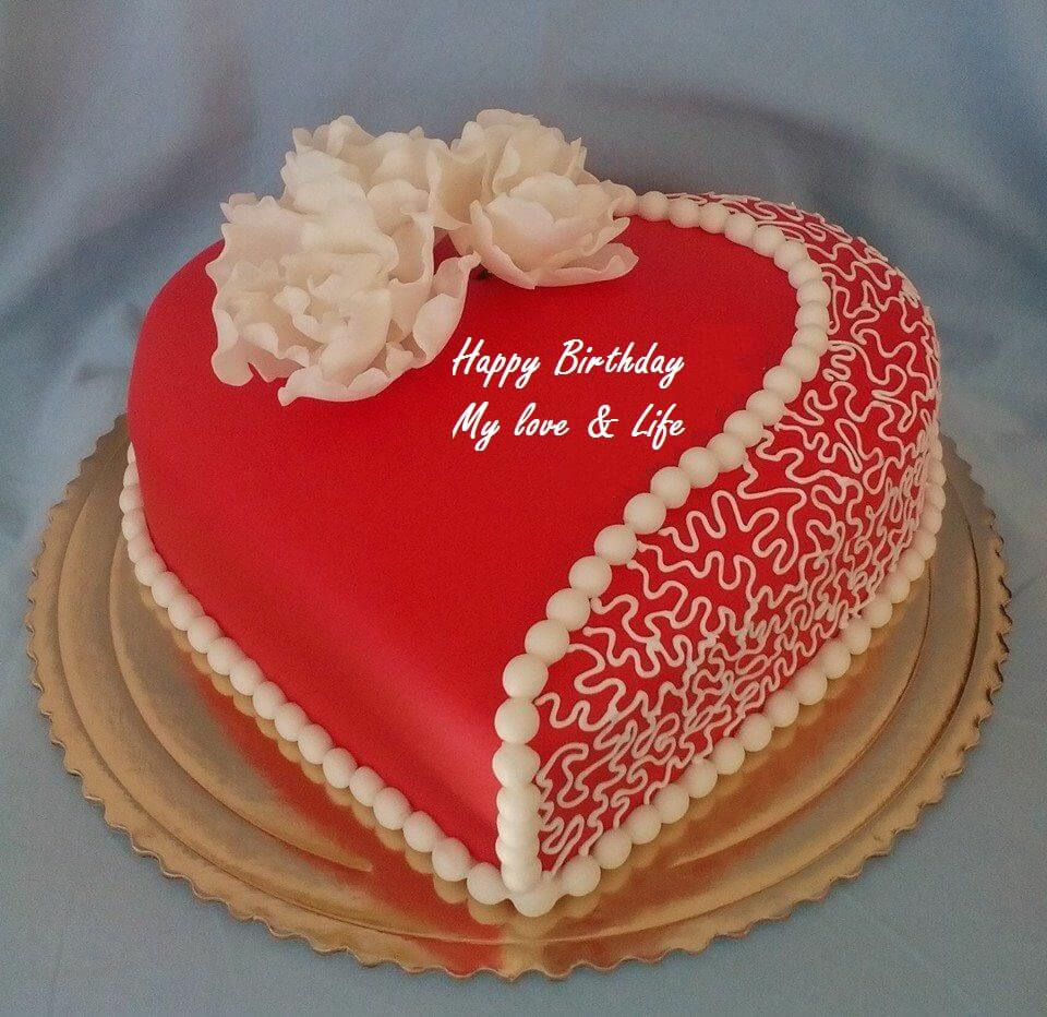 Happy Birthday Cake Wishes For Love