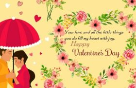 Happy Valentine Day Wishes Sayings Boyfriend