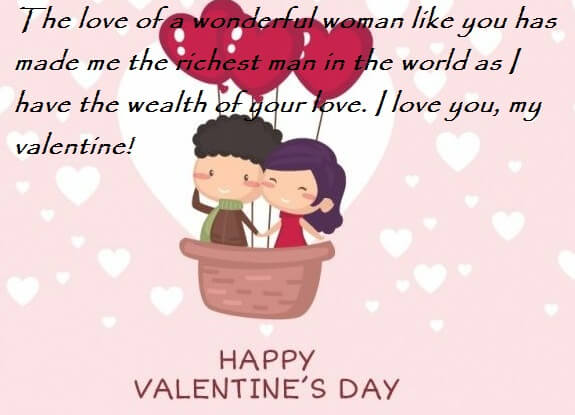 Valentine Day Wishes For Her