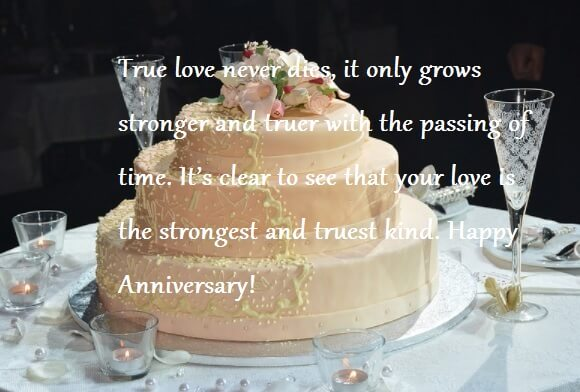 Happy Anniversary Cake Images With Wishes