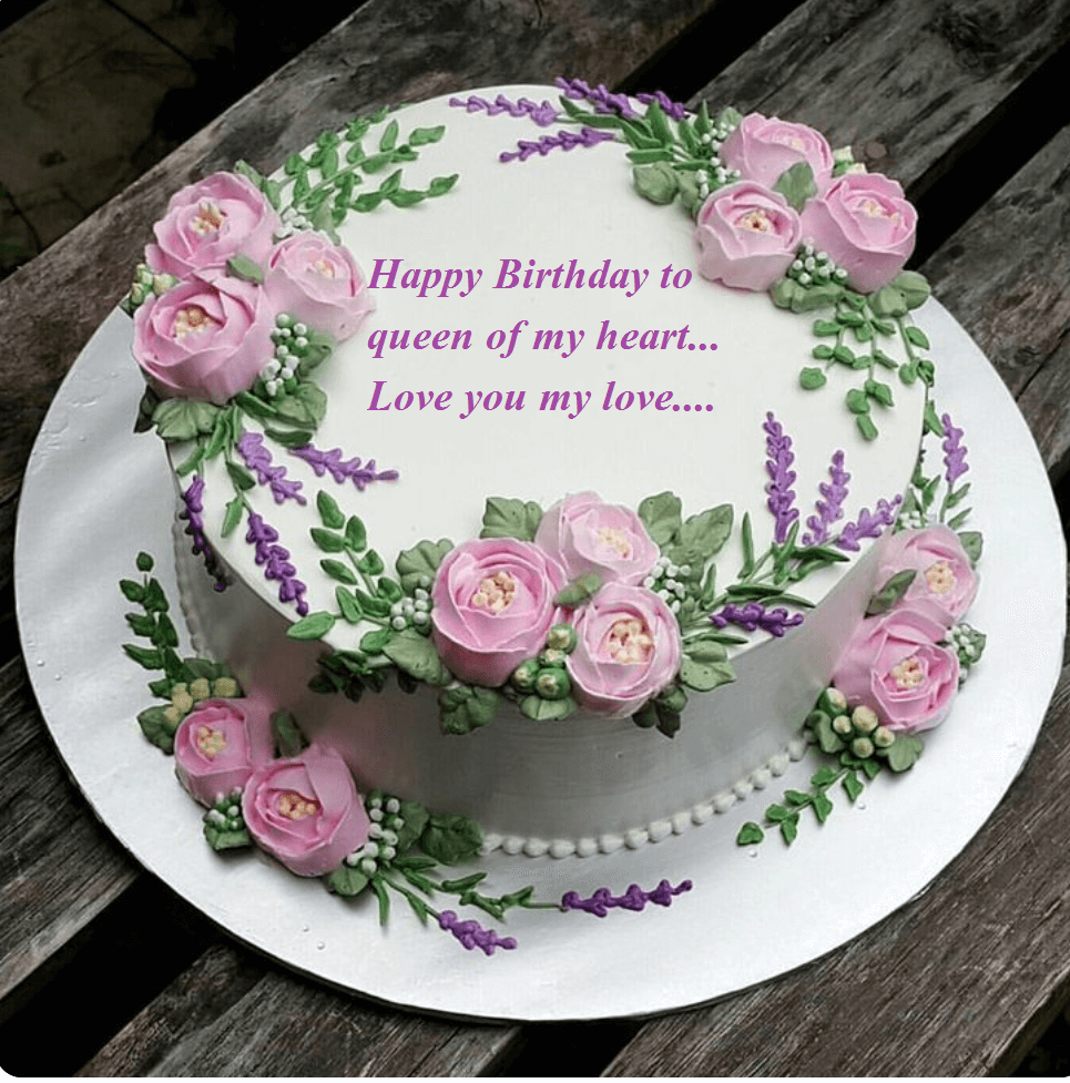 Happy Birthday Cake Images Wishes For My Wife Best Wishes