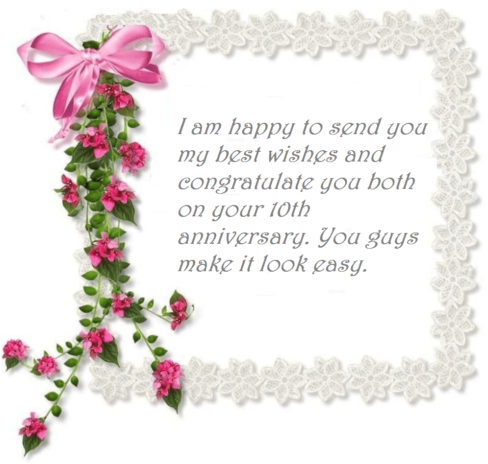 10th wedding anniversary wishes quotes best wishes happy 10th anniversary wishes mages m4hsunfo