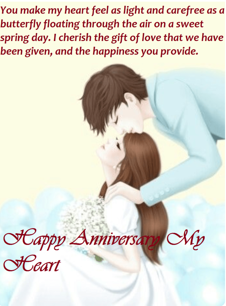 Happy Anniversary Wishes With Love For Wife