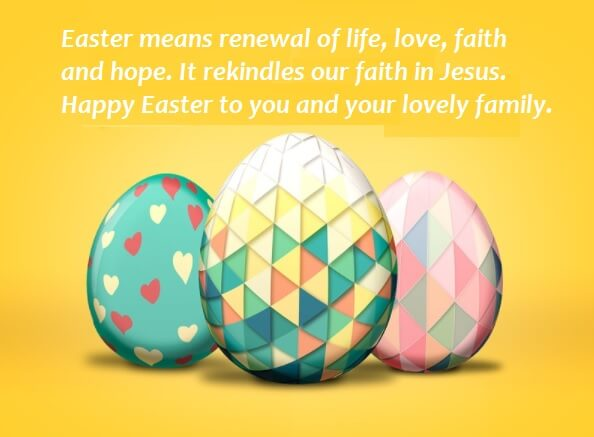 Happy Easter Wishes Sayings Images