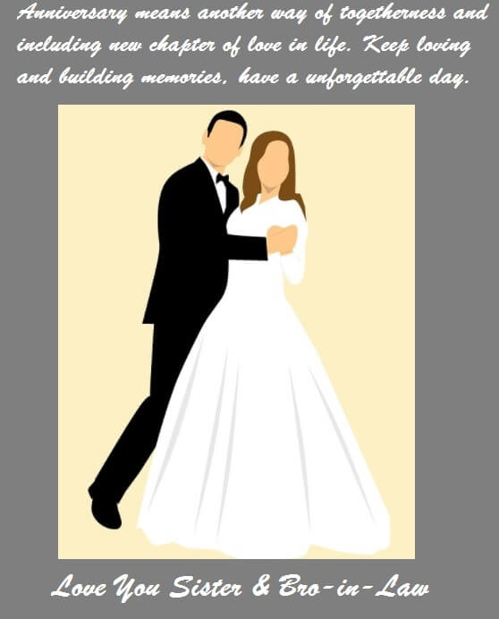 Marriage Anniversary Wishes Quotes For Sister