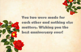 Happy 5th Marriage Anniversary to Sister