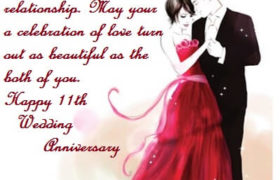11th Marriage Anniversary Quotes Wishes
