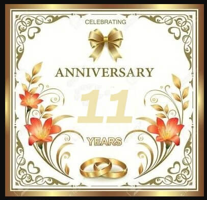 11th Marriage Anniversary Wishes Images