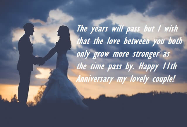 11th Wedding Anniversary Wishes Images