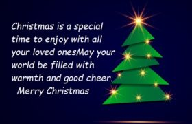 Happy Christmas Greeting Cards Sayings