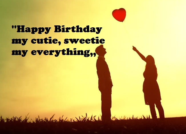 Birthday Wishes Quotes For Girlfriend in English