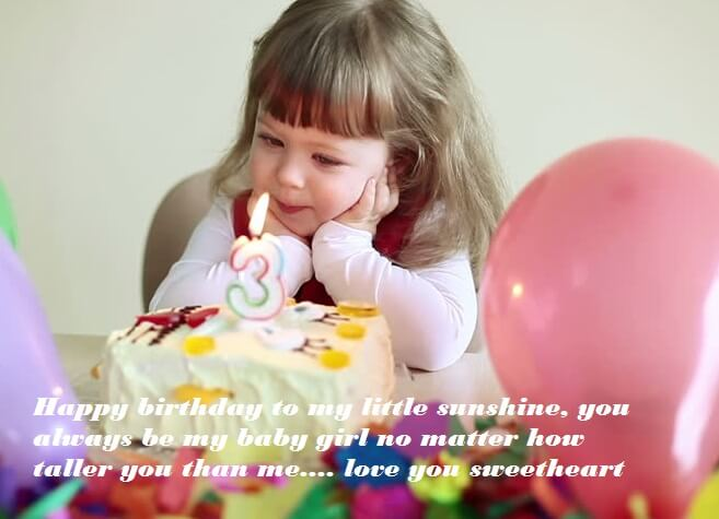 Miraculous Cute Birthday Cake Wishes For Baby Girl Best Wishes Personalised Birthday Cards Veneteletsinfo