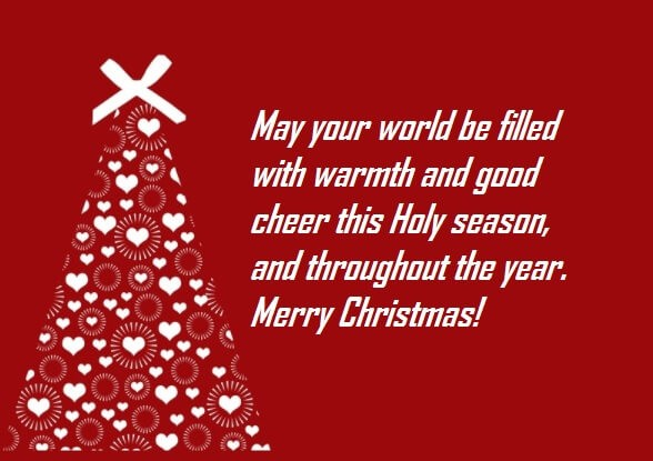 Merry Christmas Cards Images Sayings