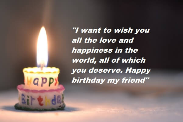 Fine Birthday Wishes Messages For Friend Best Wishes Personalised Birthday Cards Paralily Jamesorg