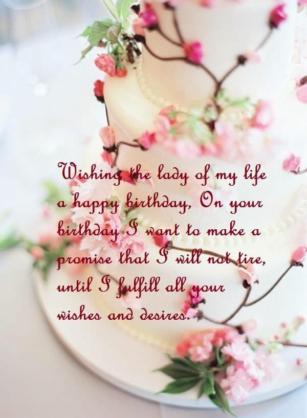 Awe Inspiring Beautiful Birthday Cake Wishes Images Sayings For Wife Best Wishes Funny Birthday Cards Online Alyptdamsfinfo