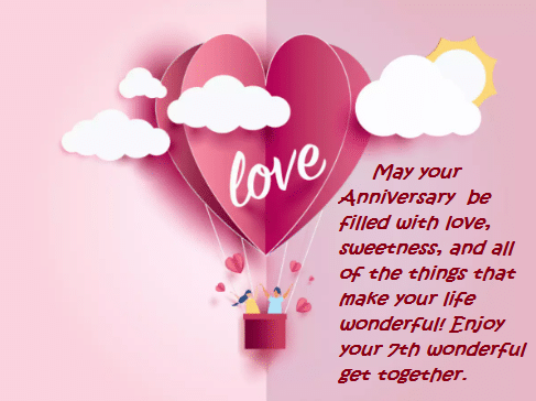 7th Marriage Anniversary Wishes Quotes Images Best Wishes